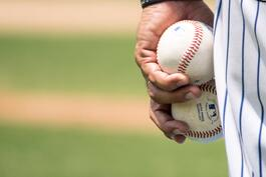 2 baseballs