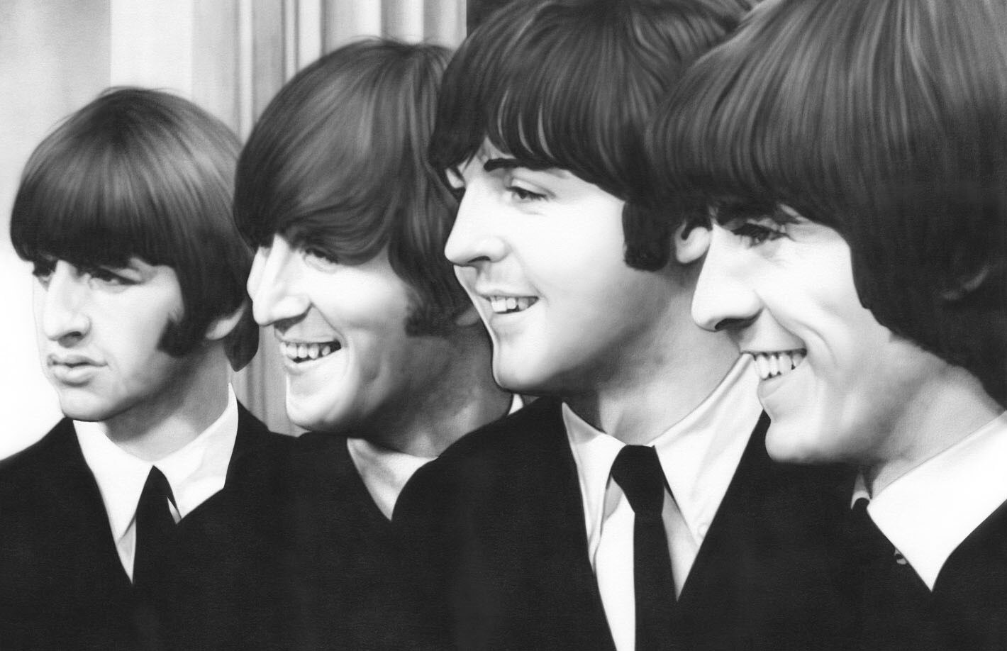 The-Beatles-George-Harrison-Ringo-Starr-Paul-McCartney-John-Lennon-Poster-Home-Decor-Wall-Sticker-4