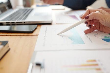 female-entrepreneur-checking-statistics