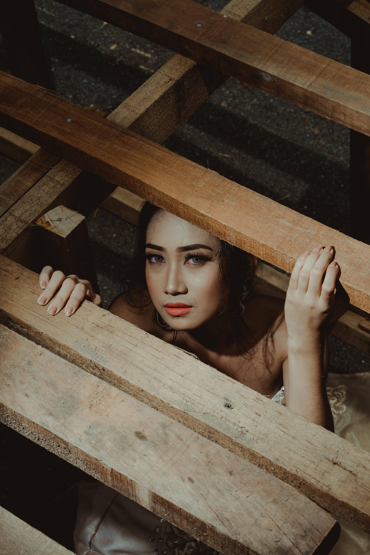 girl in box