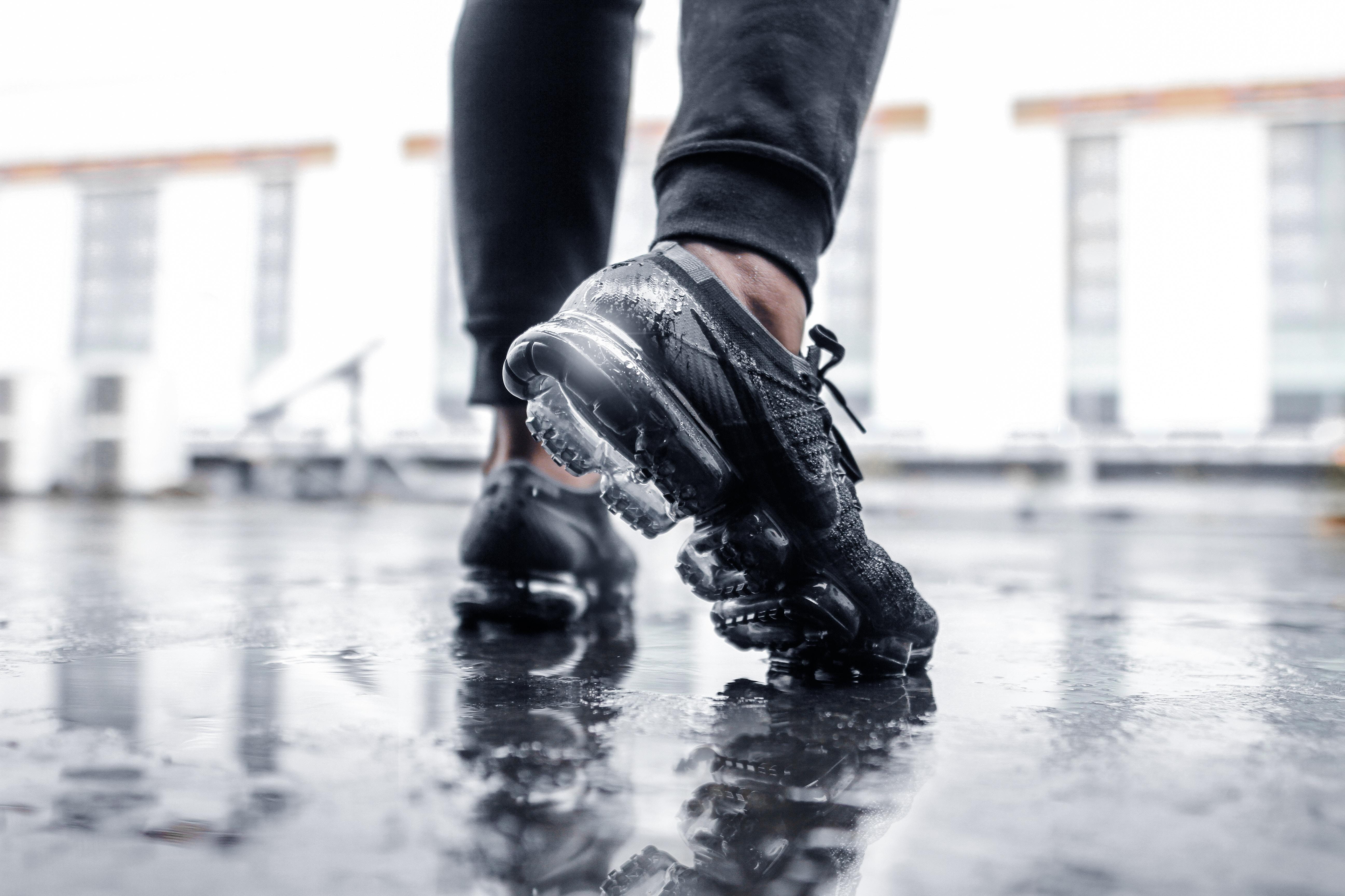 wet ankles