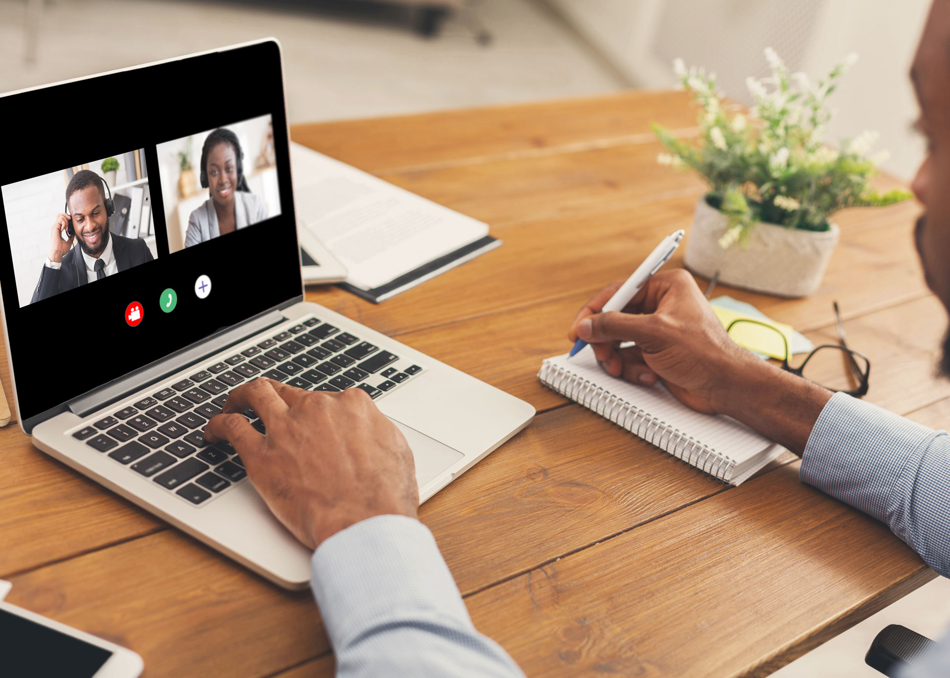 team-mates-having-video-call